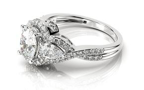 Обои glitter, ring, diamond