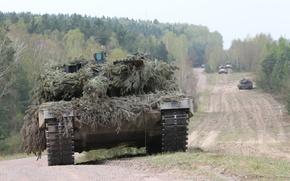 Картинка танк, боевой, Leopard, 2A4