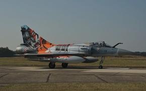 Картинка истребитель, многоцелевой, Dassault, Mirage 2000, «Мираж» 2000C