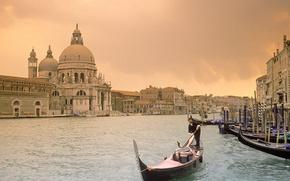 Обои Венеция, канал, Италия