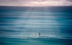Картинка море, природа, человек