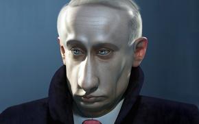 Обои юмор, политика, Путин