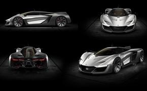 Обои Bell & Ross, Concept, суперкар, Aero GT, концепт