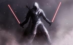 Картинка оружие, star wars, assassin's creed, ситх, световые мечи, зведные войны