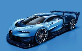 Картинка 2015, Bugatti, бугатти, Vision, Gran Turismo, гран туризмо