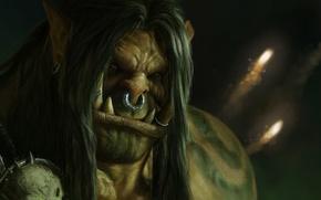 Картинка World of Warcraft, wow, warlords of draenor, Grommash Hellscream