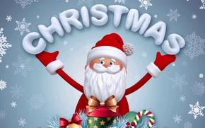 Картинка новый год, рождество, christmas, new year, дед мороз, санта, santa claus, santa, banner