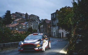 Картинка Ford, Дома, WRC, France, Rally, Ралли, Fiesta, Robert Kubica, Tour de Corse