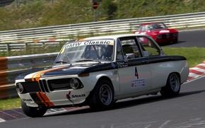 Обои Гоночный трек, Race Car, (E10), 02 Series, Neue Klasse, 2002 TI, Гоночное соревнование, Вираж, Автоспорт, ...