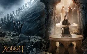 Обои elf, The Hobbit: An Unexpected Journey, Хоббит: Нежданное путешествие, гном, приключение, фэнтези, gnom, эльф