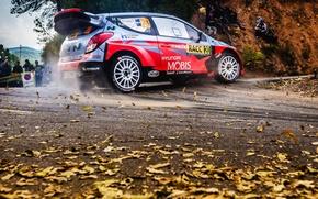 Картинка Hyundai, WRC, Rally, i20, Шпилька, Hayden Paddon