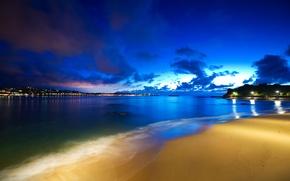 Обои saint jean de luz, hdr, Basque coast