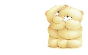 Картинка улыбка, настроение, арт, мишки, детская, Forever Friends Deckchair bear