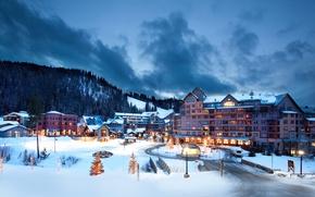 Картинка зима, Колорадо, Colorado, Aspen, Аспен, ski-resort