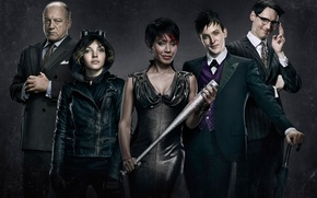 Картинка Готэм, Fish Mooney, The good, Jada Pinkett Smith, The beginning, Oswald Cobblepot, 2014, The evil, ...