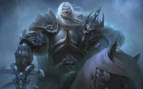 Картинка WoW, World of Warcraft, warcraft, arthas, Knight of the Silver Hand, Prince of Lordaeron, arthas …