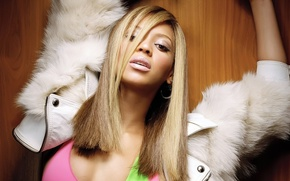 Картинка волосы, серьги, макияж, Beyonce Knowles, певица