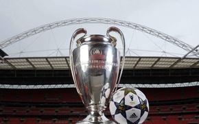 Картинка Мяч, Футбол, Адидас, Adidas, Ball, Football, Стадион, Stadium, Лига Чемпионов, Champions League, Уэмбли, Wemley