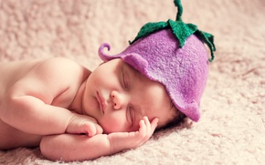 Картинка сон, колокольчик, ребёнок, шапочка, младенец