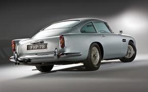 Картинка серый, Aston Martin, классика, 1964, DB5