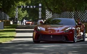 Картинка Ferrari, Red, F12, TRS