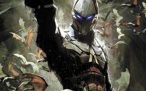 Картинка Комикс, DC Comics, Batman: Arkham Knight, Рыцарь Аркхэма, Batman: Arkham Knight - Genesis