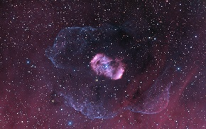 Картинка космос, красиво, звезды, туманность, NGC 6164