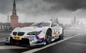 Картинка bmw, wheels, tuning, front, race, face, moscow, dtm, kremlin
