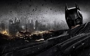 Обои темный, бэтмен, Темный рыцарь, batman, костюм, The Dark Knight