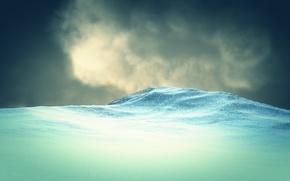 Картинка snow, Landscapes, rendering, looks