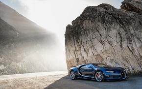 Обои wallpapers, бугатти, свет, обои, Bugatti, Chiron, car, авто