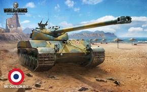 Картинка Танк, World of Tanks, BAT CHATILLON 25 T, игры обои для рабочего стола