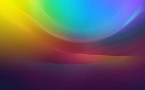 Картинка свет, линии, узор, цвет, дуга