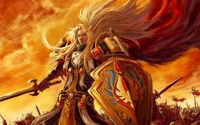 Картинка армия, light, воины, wow, паладин, world of warcraft, paladin, Эльфы крови, Blood elf