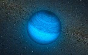 Картинка звезды, блуждающая планета, CFBDSIR2149