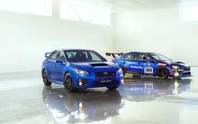 Картинка Subaru, Impreza, WRX, STI, 2014