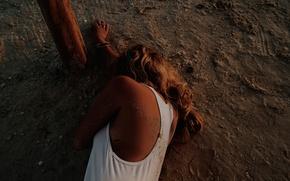 Картинка песок, фотосессия, Ashley Benson, Эшли Бенсон, 2015, Find Your California