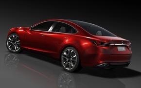 Картинка Красный, Авто, concept, Mazda