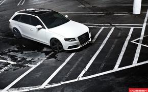 Картинка Audi, White, Vossen, A4/S4