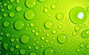 Картинка капли, зеленый, ярко