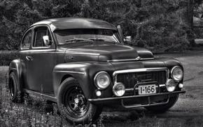 Картинка ретро, Volvo, 1961