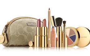 Картинка тени, карандаш, косметика, бренд, помады, Estee-Lauder, косметичка