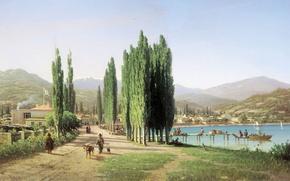 Картинка картина, Сухум-Кале, Верещагин