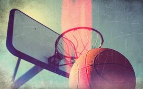 Обои свет, узоры, корзина, спорт, мяч, линий, light, sport, баскетбол, basketball, patterns, 1920x1200, lines, ball, basket