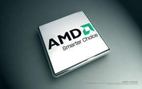 Картинка AMD, фирма, процессор, бренд