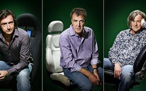Картинка Top Gear, Джереми Кларксон, Ричард Хаммонд, Топ Гир, Джеймс Мэй