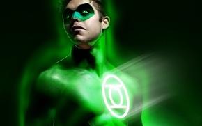 Картинка маска, арт, костюм, Green Lantern, зеленый фонарь, DC Comics, Hal Jordan