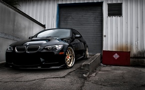 Обои E92, Cars, Black, auto wallpapers, машины, BMW