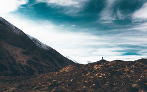 Картинка mountain, happiness, person
