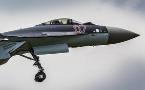Обои Су-35, кабина, многоцелевой, сверхманевренный, реактивный, истребитель